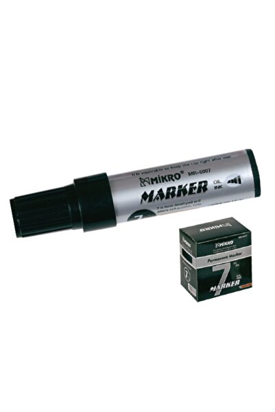 Şahin Mikro Permanent Marker Jumbo 7mm Siyah 6007
