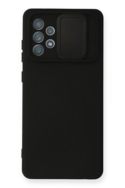 Samsung Galaxy A32 Kılıf Color Lens Silikon Grm - Siyah