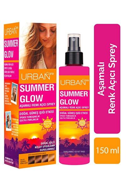 Urban Care Monoi Yağı Ve Bitkisel Keratin Içeren Aşamalı Renk Açıcı Sprey / Summer Glow 150 ml