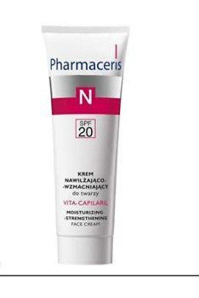 Pharmaceris Vitacapilaril Spf20 Moisturising Strengthening Face Cream 50 ml