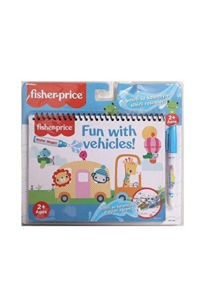 FISHER PRICE Sihirli Boyama Kitabı Araçlar(water Magic Vehicles)