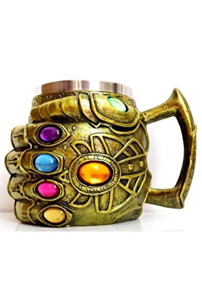 HEPBİMODA 3d Kabartmalı 380 Ml Thanos Eldiven Mug Kupa Bardak