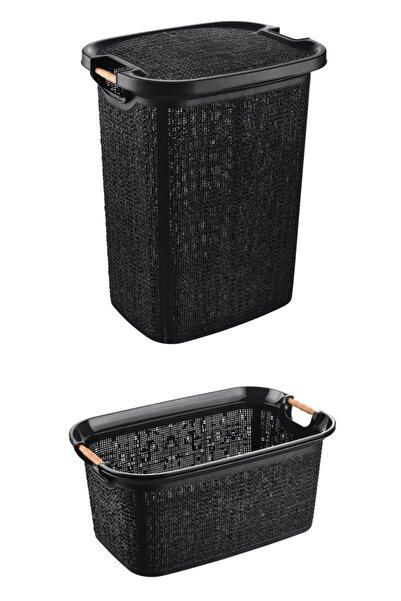 HomeCare Kirli Temiz Çamaşır Sepeti Seti 714731