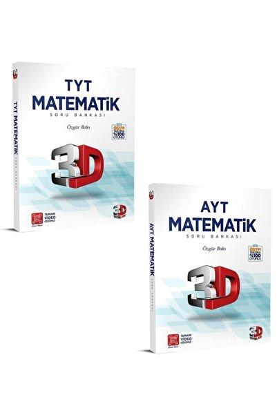 3D Yayınları Tyt Ayt Matematik Soru Bankası Seti Yeni 2021