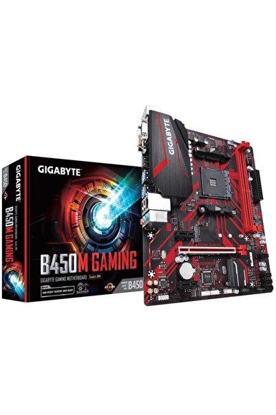 Gigabyte B450m Gaming Amd B450 Soket Am4 Ddr4 3200(OC)mhz Matx Gaming(OYUNCU) Anakart
