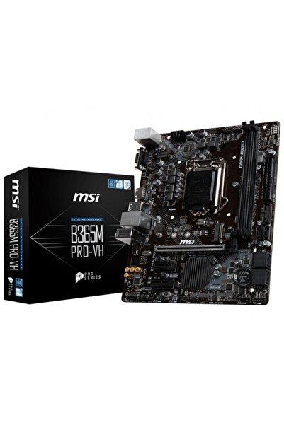 MSI B365m Pro-vh Intel B365 Soket 1151 Ddr4 2666mhz Matx Gaming Anakart