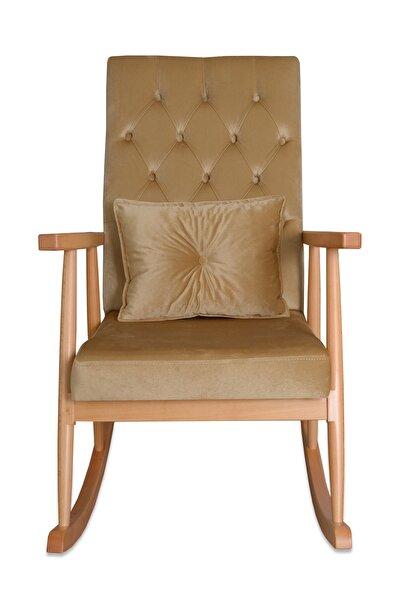 Asedia Trend Naturel-bal Köpüğü Kapitoneli Sallanan Sandalye