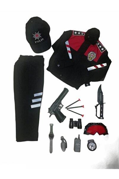 Muray Çocuk Yunus Polis Kıyafeti Komple Set