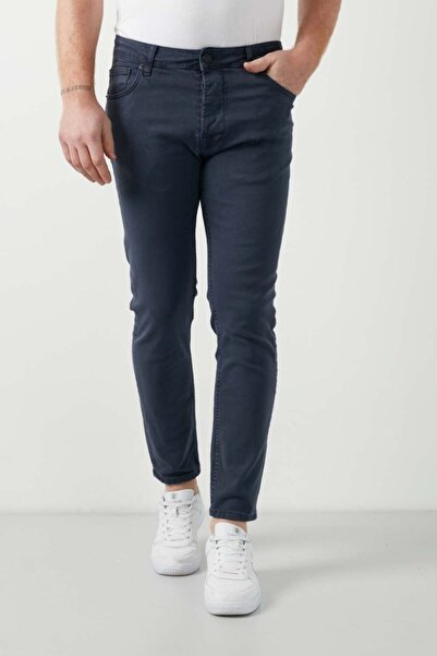 Five Pocket Erkek Lacivert Jean Pantolon (7510-e2022)
