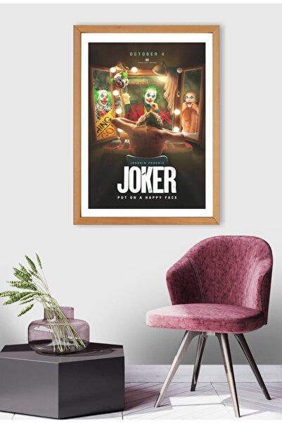 Mia Pera Joker Poster Joaquin Phoenix Put On A Happy Face Film Afişi