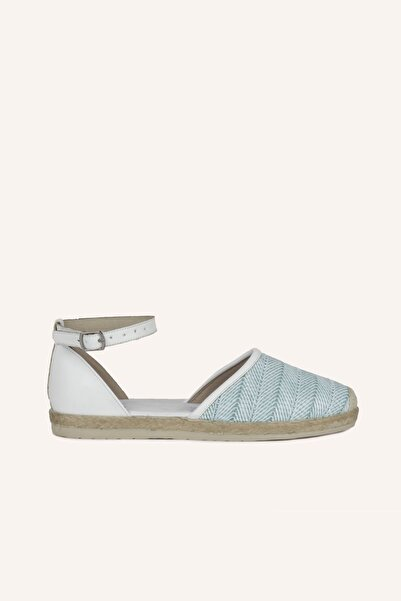 MARCATELLI Turkuaz Hasır Sandalet