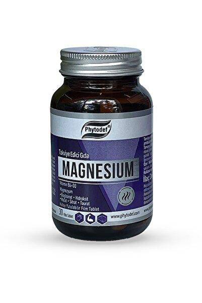 Phytodef Magnesium Vitamin B6 + D3 - 30 Tablet