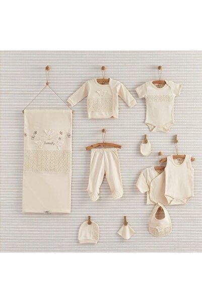 Nenny Baby Organic Butterfly 10 Parça Yeni Doğan Hastane Çıkış Seti