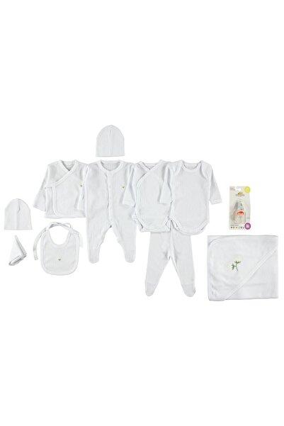 Minidamla Bebek 10'lu Zıbın Takımı Prematüre Beyaz