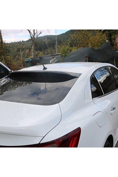 HYM TUNİNG Renault Megane 4 Arka Cam Üstü Spoyler Parlak Siyah