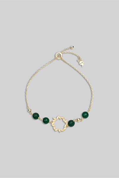 So CHIC... Kadın Ceres Koleksiyonu Defne Yaprağı Gümüş Bileklik