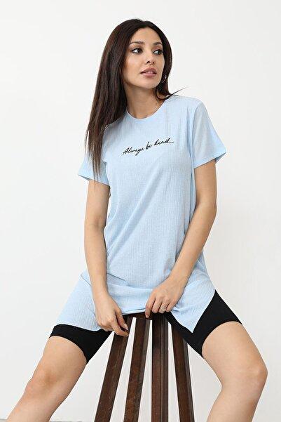 BY H Alwarys Be Kind Baskılı T-shirt