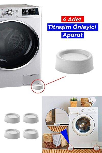 Helen's Home 4 Adet Çamaşır Makinesi Titreşim Ve Ses Önleyici Ayak Kayma Önleyici Aparat