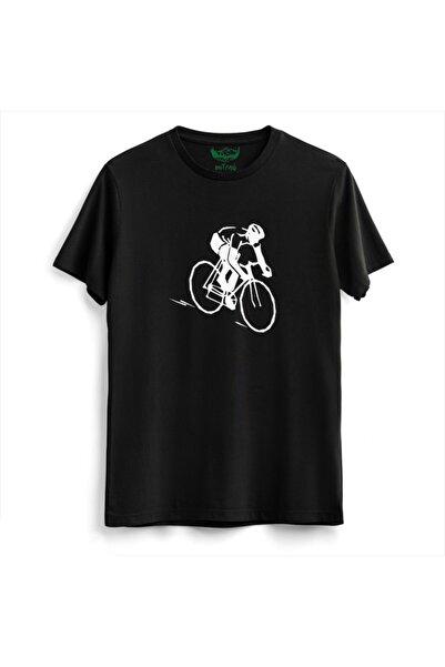 Outrail Unisex Siyah T-shirt