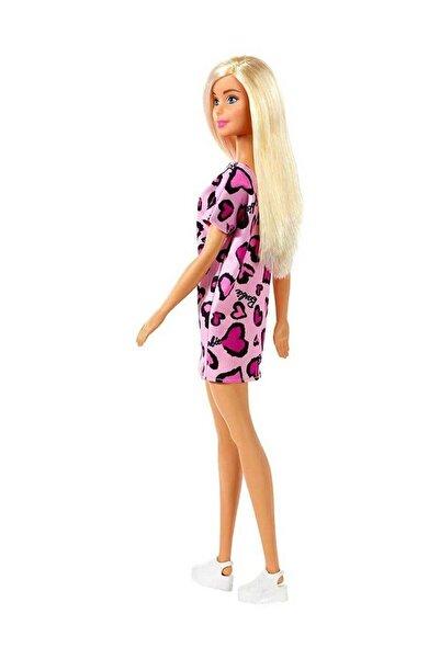 Barbie Şık Barbie - Pembe - Kalpli Elbise