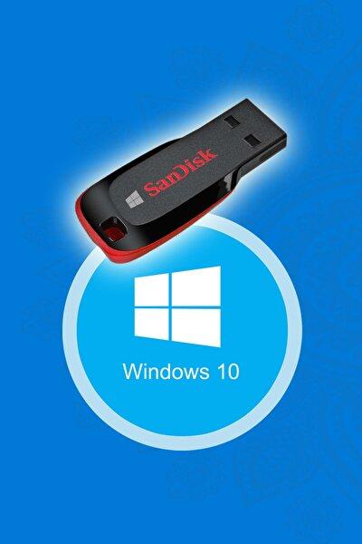 Trendline Windows 10 Kurulum Flash Disk Bellek (UEFI GPT)