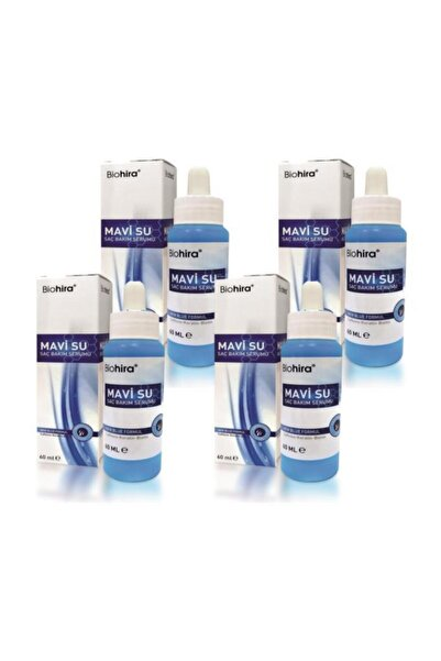 Bio Hira 4 Adet Biohira Mavi Su Saç Bakım Serumu 60 ml