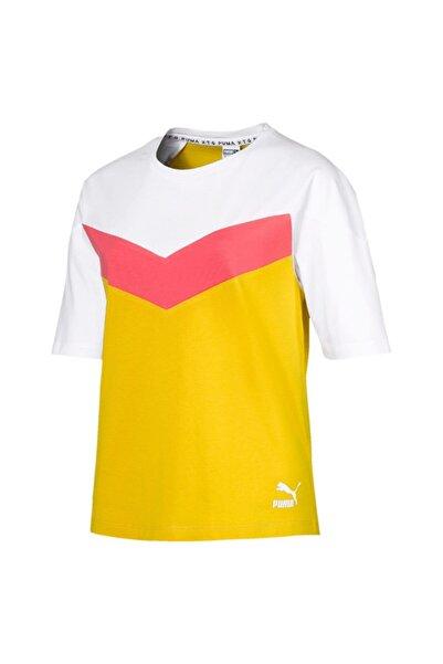 Puma Xtg Colorblock Tee Kadın Tişört - 59523720