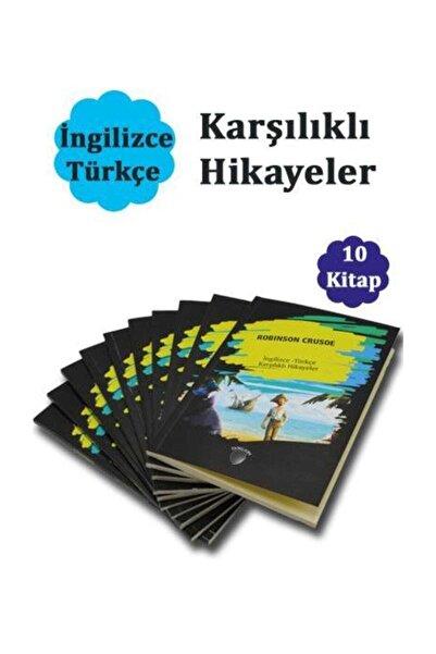 Dorlion Yayınevi İngilizce - Türkçe Karşılıklı Hikayeler - 10 Kitap