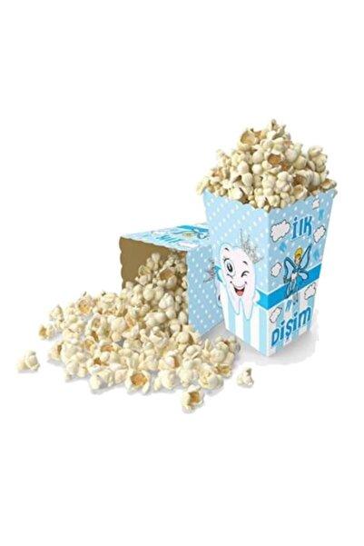 PartiPan Diş Buğdayı Mısır Kutusu Mavi 10 Adet