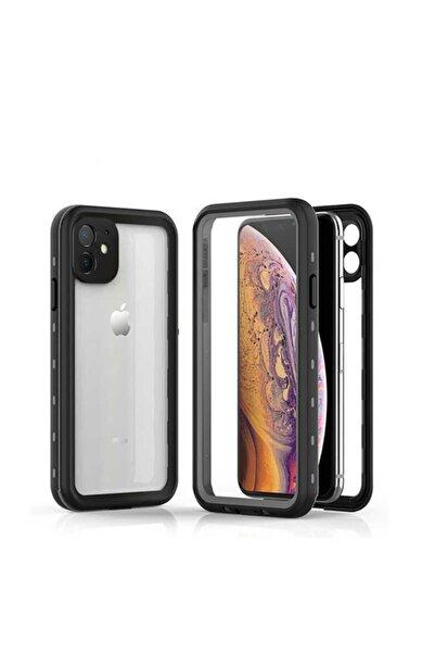 Apple Iphone 11 Uyumlu Kılıf Su Geçirmez Yüksek Darbe Emici 360 Tam Koruma Silikon