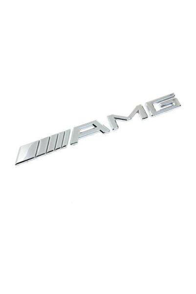 MERCEDES Amg Logo Arma Amblem Bagaj Amg Yazı