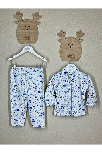 Miniel Erkek Bebek Pijama Takımı