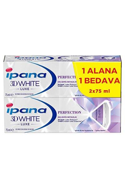 İpana IPANA PERFECTION 75ML+75ML 3BB LUXE DIS MACUNU