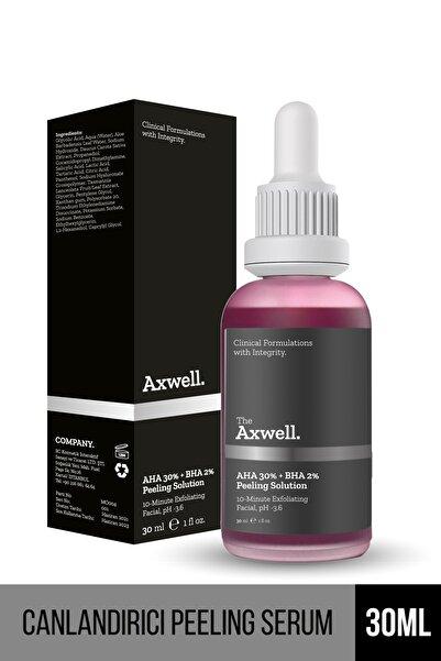 AXWELL Canlandırıcı & Cilt Tonu Eşitleyici Yüz Peeling Serum 30 ml Aha 30% + Bha 2%