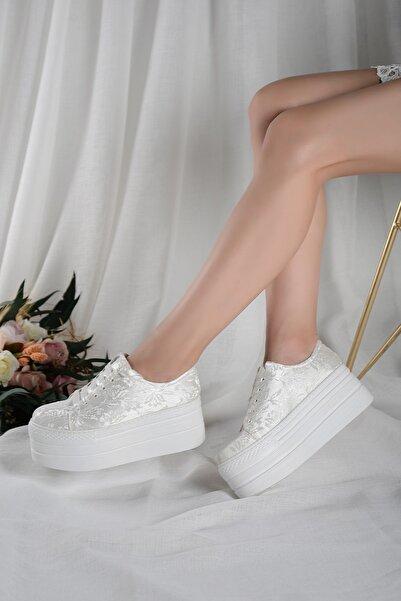 ALPELLİ Kadın Spor Gelinlik Ayakkabısı