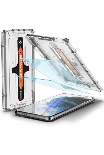 Spigen Galaxy S21 Plus Cam Ekran Koruyucu Kolay Kurulum, Glas.tr Ez Fit Slim Hd (2 Adet)
