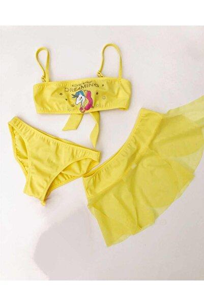 Kom Dreamy 3'lü Etekli Bikini Takımı