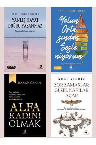 Olimpos Yayınları Yanlış Hayat Doğru Yaşanmaz, Alfa Kadını Olmak, Yolun Ortasından., Zor Zamanlar.. Son Çıkan Kitaplar