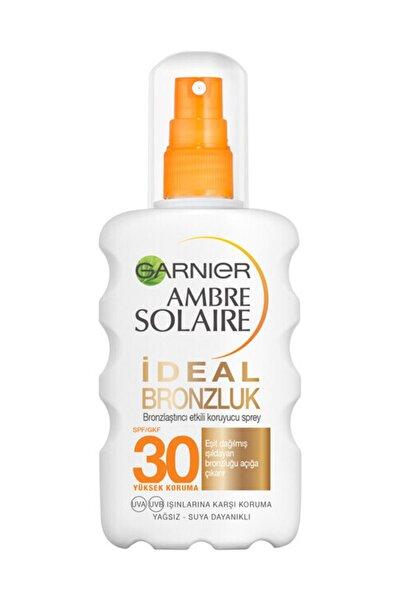 Garnier Ambre Solaire İdeal Bronzluk Güneş Koruyucu Sprey GKF30 200ML
