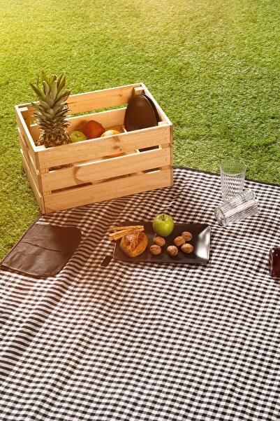 Favore Casa Piknik Şiltesi 150x150 cm Siyah