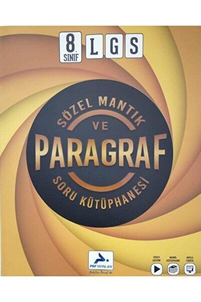 paraf yayınları Prf Paraf 8.sınıf Lgs Sözel Mantık Ve Paragraf Soru Bankası