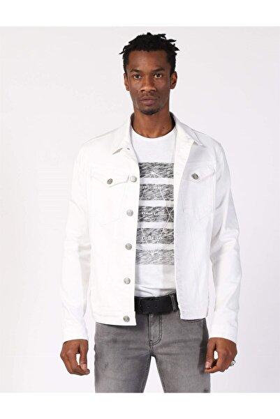 Twister Jeans Erkek Super Slim Ceket Tımex J05 Gab (t) Beyaz
