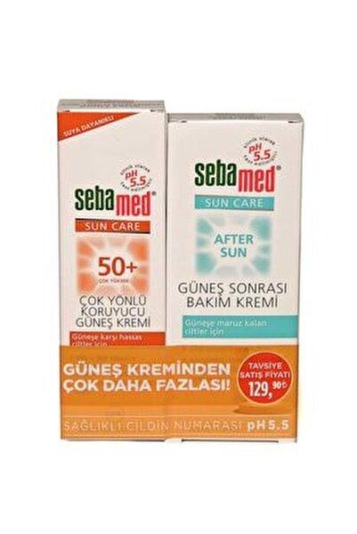 Sun Care Spf 50+ Çok Yönlü Koruma Güneş Kremi + Güneş Sonrası Bakım Kremi 100 Ml
