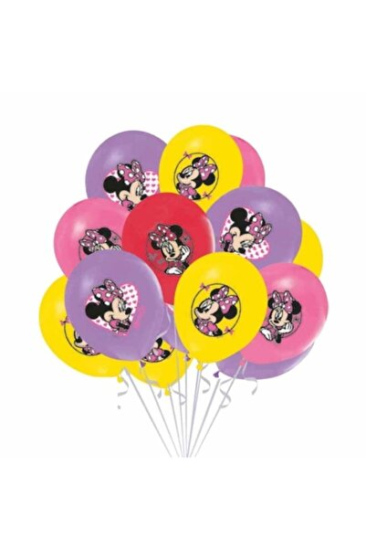 Minnie Mouse Balon 10 Adet