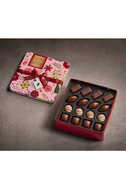Elit Çikolata Gourmet Collection Çiçekli Metal Kutu 167g Glutensiz