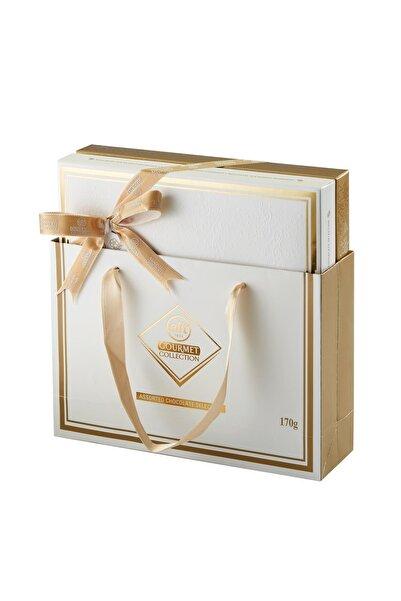Elit Çikolata Gourmet Collection Spesiyal Çikolata Beyaz Kutu 170g Glutensiz