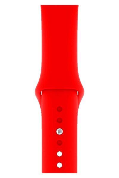 Apple Watch 2 3 4 5 6 Se Nike 38mm 40mm Uyumlu Kordon Kayış Bileklik Klasik Kaliteli Spor Silikon Band