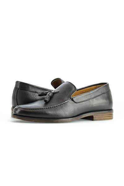 Kiğılı Püsküllü Klasik Deri Ayakkabı
