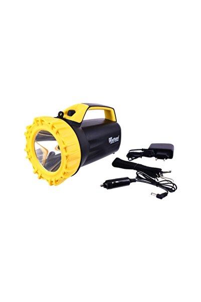 Watton Profesyonel Avcı Büyük Feneri Gün Işığı Sarı Renk Wt-408