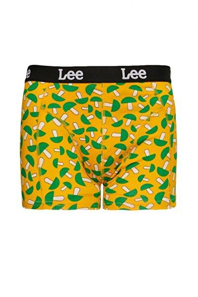 Lee Erkek Turuncu Tekli Boxer